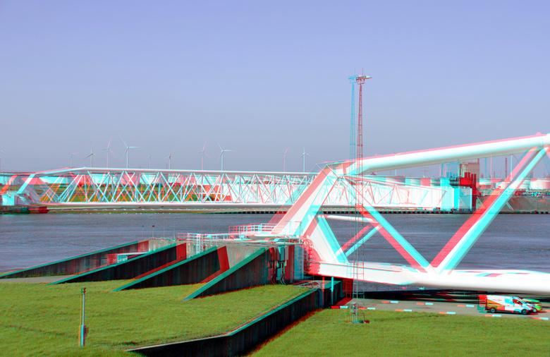 Maeslantkering Hoek van Holland 3D - Maeslantkering Hoek van Holland 3D