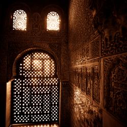 Inside the Alhambra