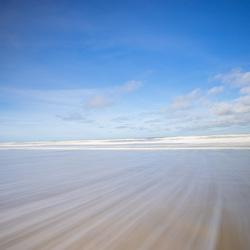 Witte lijnen strand (1 van 1)