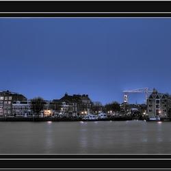 hdr-panorama van Dordrecht