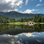Spiegeling in het meer