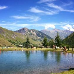 Bergmeer Franse Alpen Col de la Croix de fer