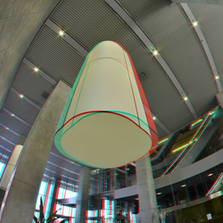 Hal De Rotterdam Building Rotterdam 3D Fish-eye 8mm