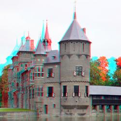 Kasteel De Haar Haarzuilens Utrecht 3D