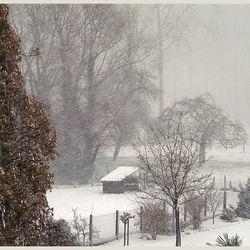 De sneeuw kwam..