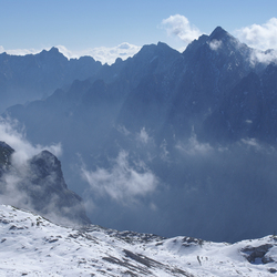 Uitzicht vanaf de Zugspitze