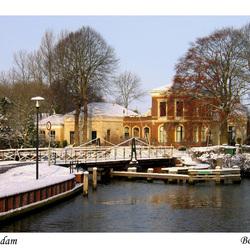 Winterplaatje Onderdendam