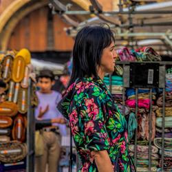 Flea market for women