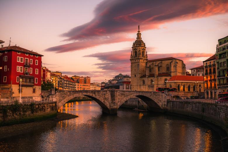 Bilbao old town -