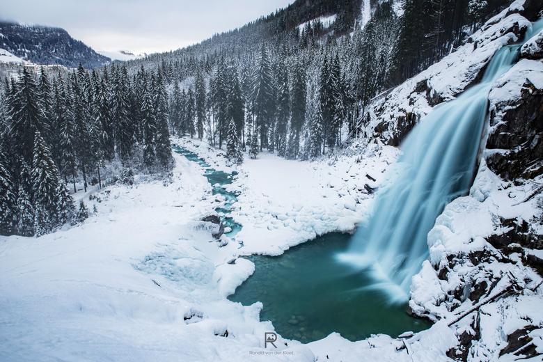 Krimml watervallen - De watervallen van Krimml, op vijf na hoogste waterval van de wereld met een hoogte van bijna 400meter is dit echt een geweldige