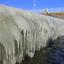 Ijsaanzetting bij het Monument op de Afsluitdijk (3)