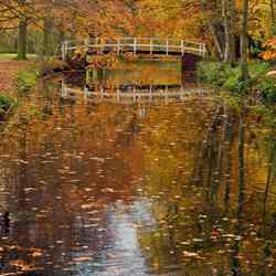 Herfst weerspiegelingen
