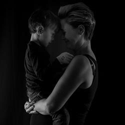 Moeder en zoon (x2)