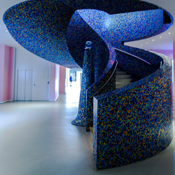 201403091271 Trap beneden Groninger Museum.