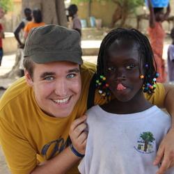 Vrienden in Senegal