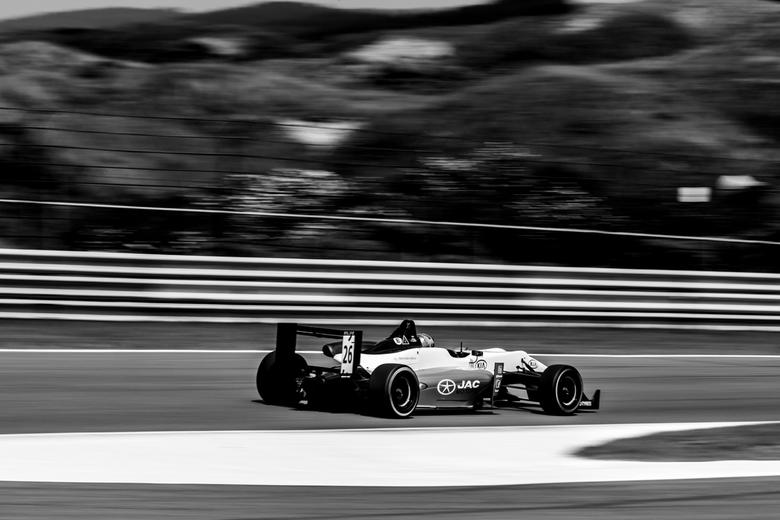 Formule 3 - Formule 3 tijdens de Masters of Formule 3 op het circuit van Zandvoort.