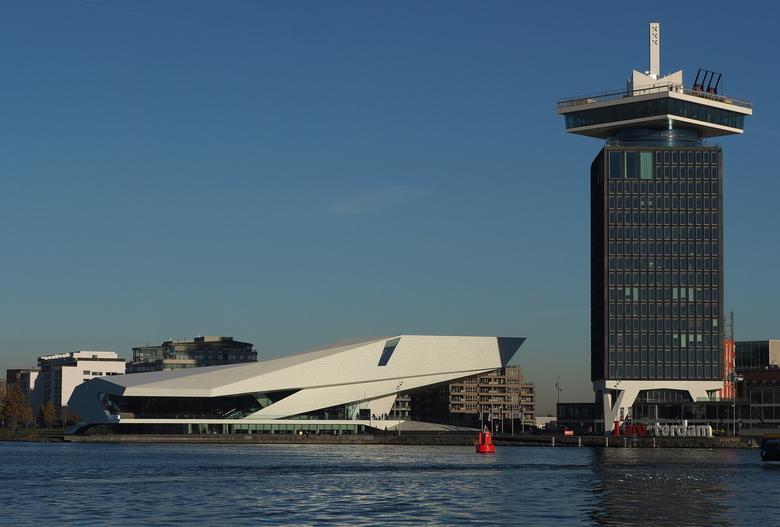 The Eye   - Een mooie dag met Jaap Koer ..rondje Amsterdam...en met name straatfotografie .<br /> Het EYE Film Instituut Nederland is een centrum in