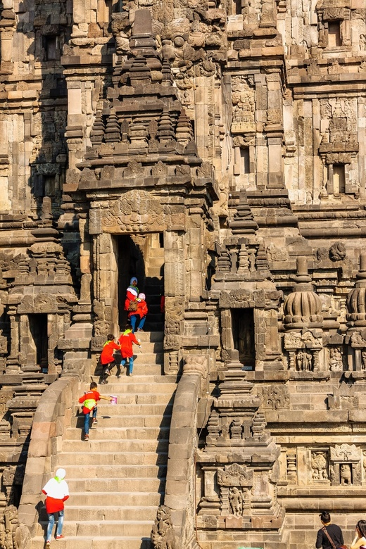 Schoolreisje Prambanan -