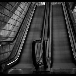 Roltrap, station Luik, Guillemins