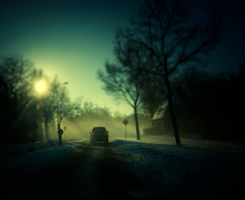 10.35hr a blurry christmas morning  - @@ een wazige morgen @@