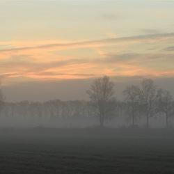 Een koude december morgen
