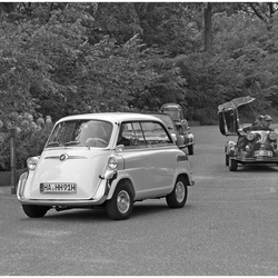 Dikke BMW's en Messerschmitts uit Duitsland