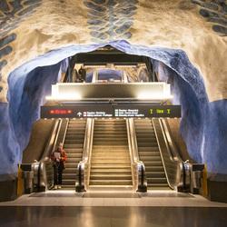 Stockholm - Metro (Tunnelbana) - T-Centralen