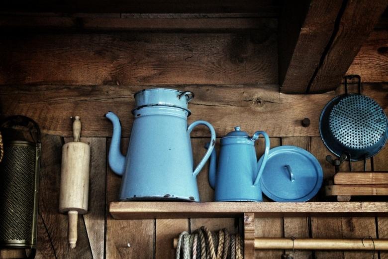 Pots 'n pans - Foto gemaakt in de stube van camping Vammen in Denemarken