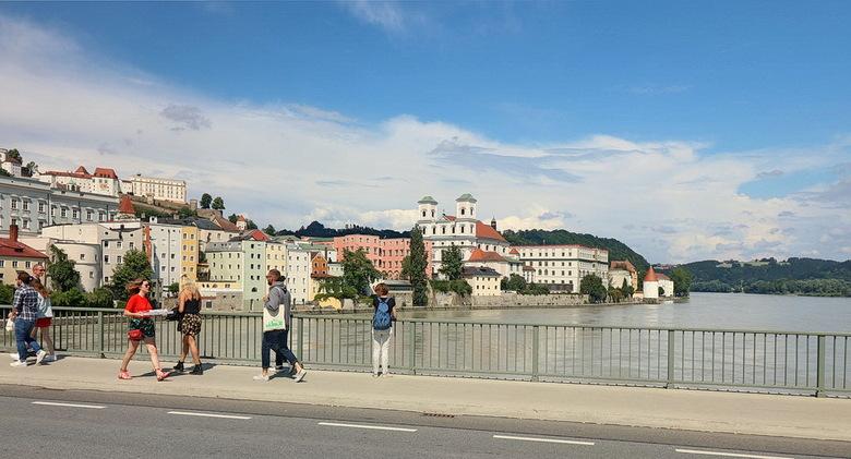 Passau Duitsland. - Met zijn charme en uitstraling is de driestromenstad aan Donau, Inn en Ilz, die in 1803 Beiers werd, een van de indrukwekkendste s