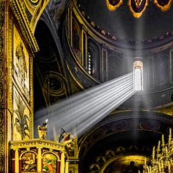 Grieks othodoxe kerk in Thessaloniki