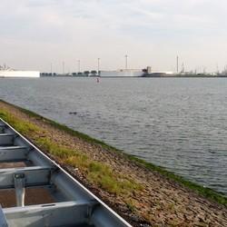 P1290747 Maeslandkering  NIET dicht geweest   foto van  26 sept 2014