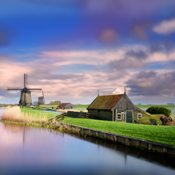 Holland landschap