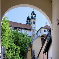 Passau Bayerischer Wald Duitsland.