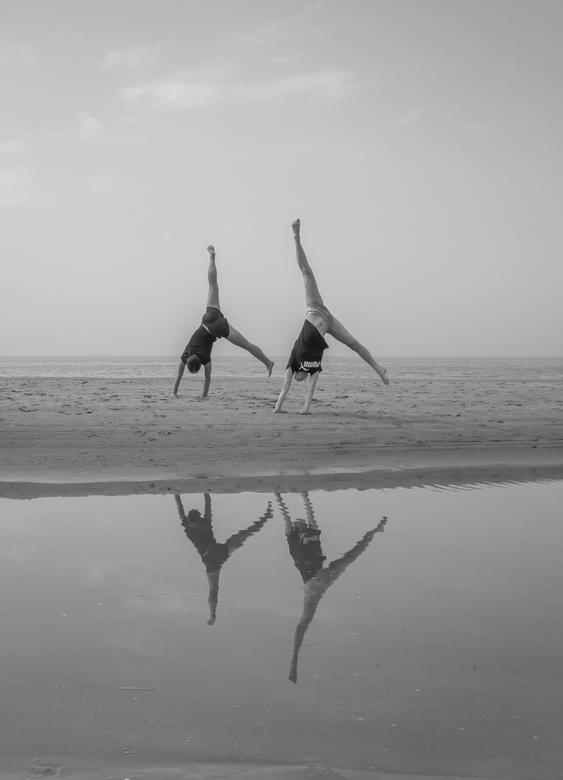 Turnen @ the beach