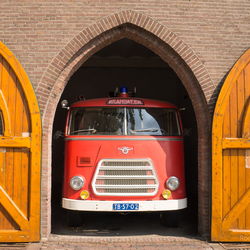 Brandweerauto uit de oude doos