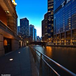 Chicago rivier.