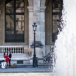 Een fotoshoot in Parijs