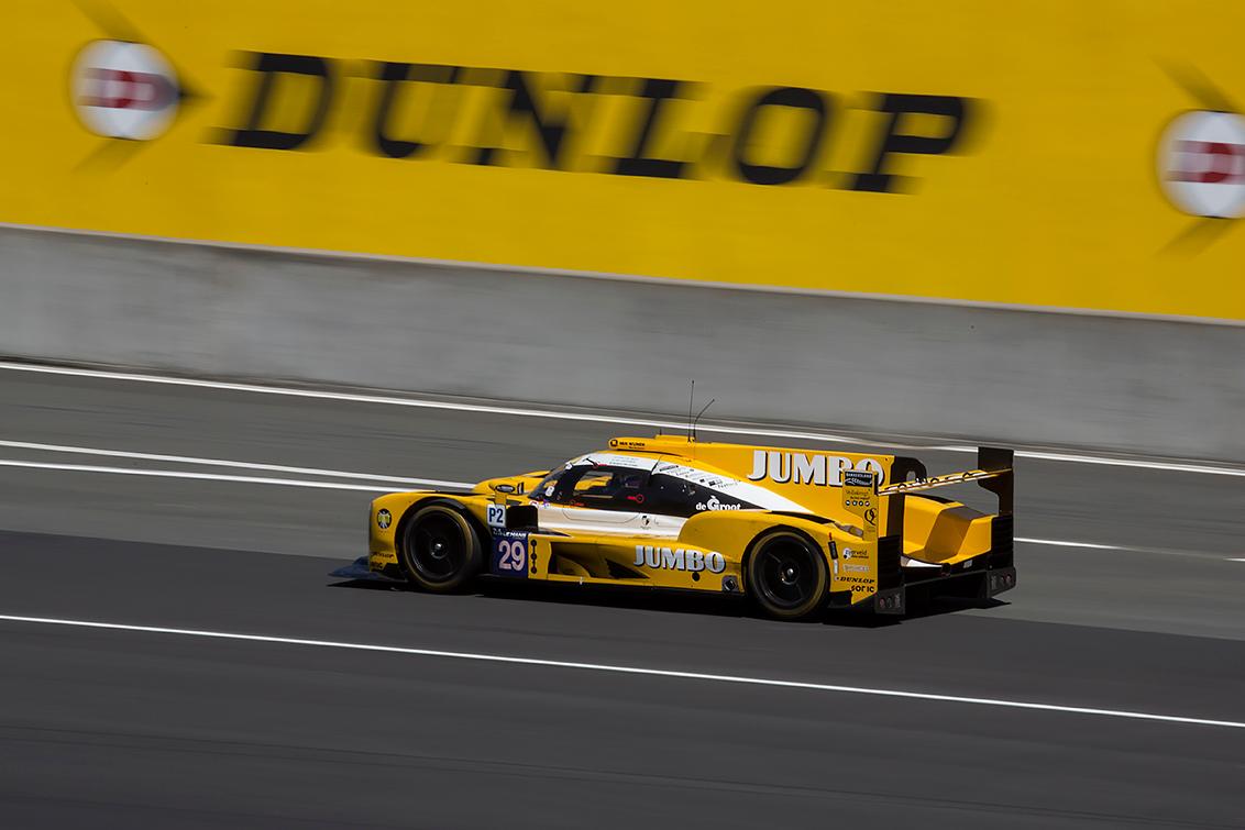 Racing Team Nederland in actie tijdens de 24 uur van Le Mans