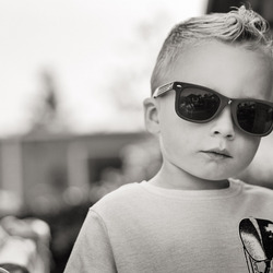 Luc zw zonnebril