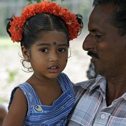 Opa en kleindochter