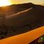 Gouden zonnenstralen
