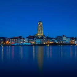 Deventer - het blauwe uur