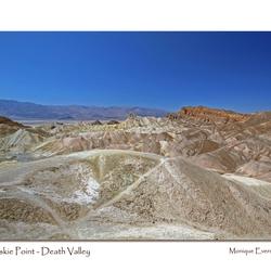 Death Valley Zabriskie Point 2
