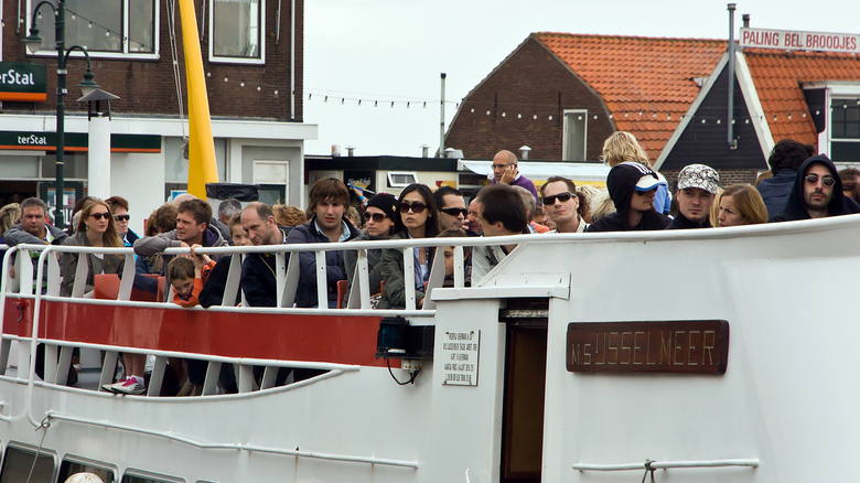 Met de boot naar Marken - ...