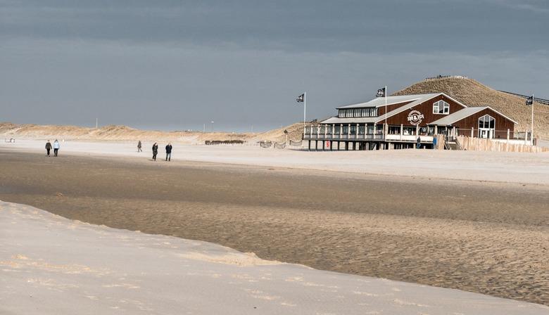 Strand - Het strand bij Petten NH.