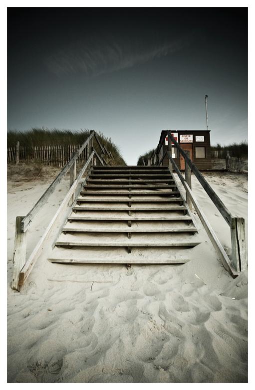 beach exit - oye plage frankrijk