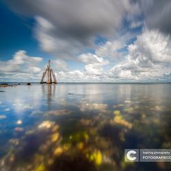 Dukdalf aan het Grevelingenmeer