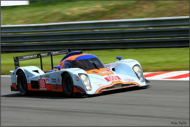 Aston Martin - Op het circuit van Francorchamps werd afgelopen weekeind de 1000km van Spa verreden, voor de Le Mans-series, en het was de moeite waard