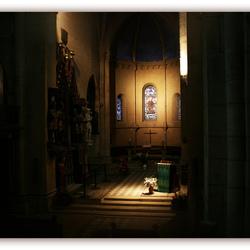 Doorkijkje vanaf de kansel
