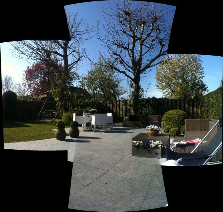 tuinstitch - Tuin van vriend in Eindhoven
